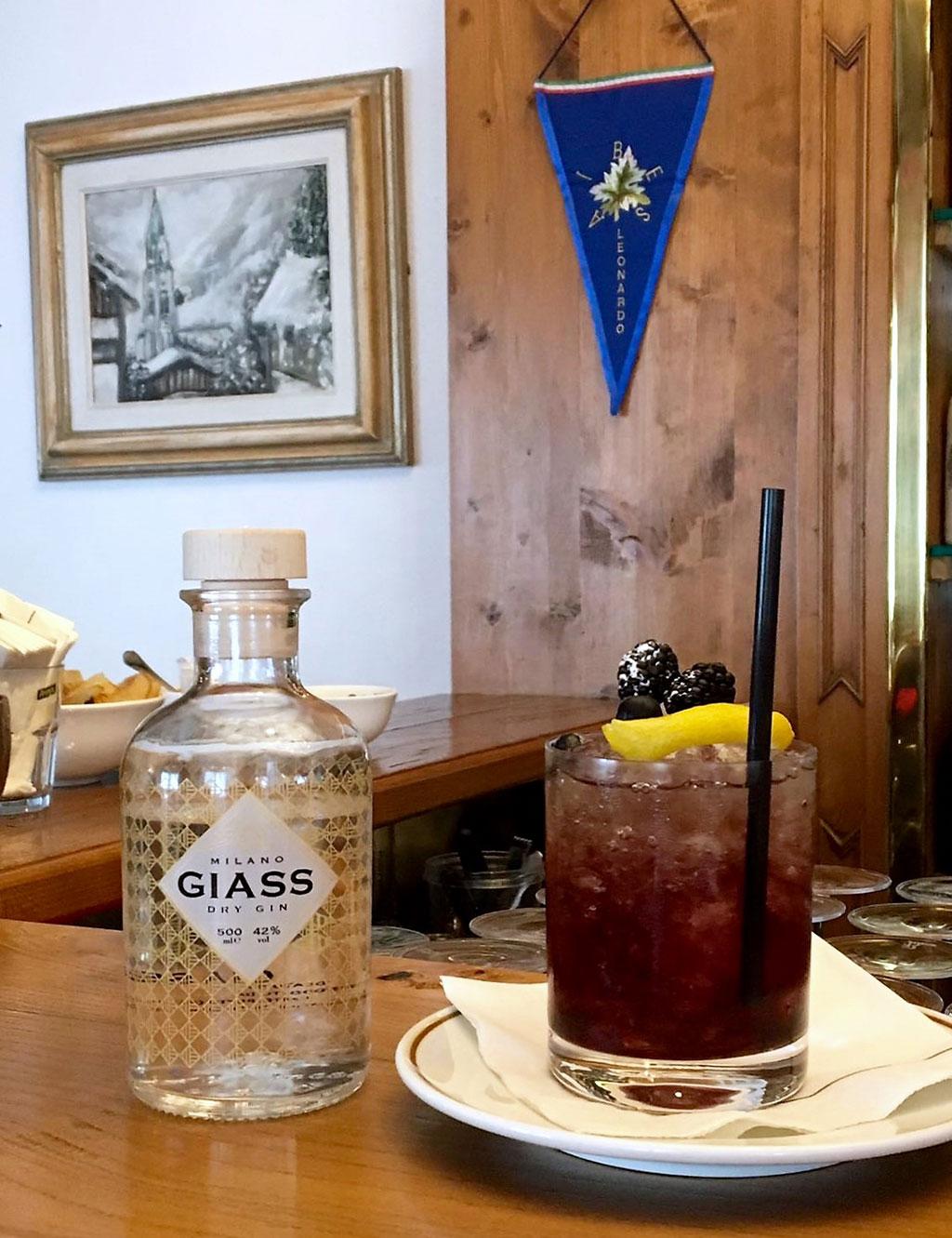 Cocktail: Bramble Twist